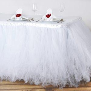 white tutu skirt